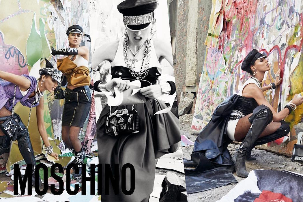 Moschino Fall and Winter 2016 and 2017 Campaign by Steven Meisel